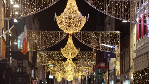 Dublin S Christmas Lights Cost Nearly 1m And Not Everybody