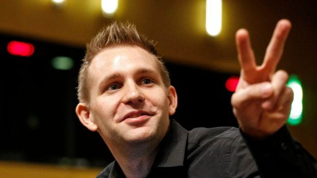 Austrian data privacy campaigner Max Schrems.