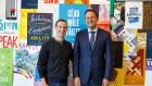 Facebook founder and chief executive Mark Zuckerberg with Taoiseach Leo Varadkar at the company's headquarters in Menlo Park, Silicon Valley, California. Facebook has confirmed it plans to create hundreds of new jobs in Ireland next year.