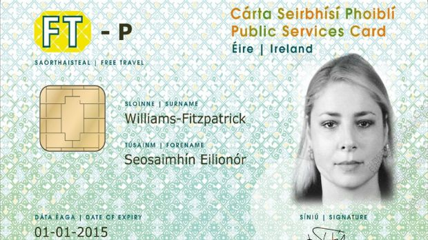 The Public Services Card.