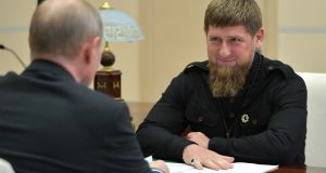 Chechnya has been ruled since 2006 by Ramzan Kadyrov (right), who has helped the Kremlin crush a long-running Islamist insurgency while running the region as a personal fiefdom. Photograph:  Alexei Druzhinin\TASS via Getty Images