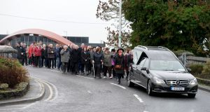 A community has shown real Christmas spirit by raising more than €5,000 to pay for  the funeral of a much-loved local resident, Margaret Lang, who died alone last week. Photograph: Alan Betson/The Irish Times