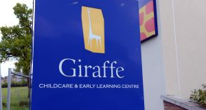 """It is business as usual for all Giraffe Childcare facilities,"" the company's directors said. Photograph: Eric Luke"