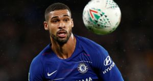 Chelsea's Ruben Loftus-Cheek:   Crystal Palace and West Ham are among the clubs interested in  midfielder. Photograph: Reuters/John Sibley