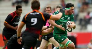 "Connacht's Paul Boyle in action against  Southern Kings. ""He carries hard, he tackles hard, he knows his role and he knows where he's meant to be,"" says coach Andy Friend.   Photograph: James Crombie/Inpho"