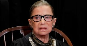 US supreme court judge Ruth Bader Ginsburg. File photograph: Jim Young/Reuters