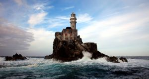 The  Fastnet lighthouse. This picture was taken during the 2011 Southern Extreme Irish Lighthouse Tour. Photograph:  John Eagle
