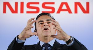 File photo taken in 2012: President and executive  of Japan's car giant Nissan Carlos Ghosn . Photograph: Getty Images