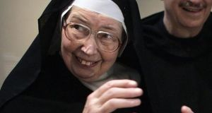 Image from 2006 of Sister Wendy Beckett visiting the Victoria and Albert Museum in London, England. File photograph: Edmond Terakopian/PA Wire
