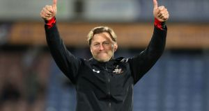 Southampton manager Ralph Hasenhuttl is confident his team can beat West Ham on Thursday night. Photograph: PA