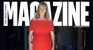 Stories of 2018: Emma Mhic Mhathúna on the cover of today's Irish Times magazine. Photograph: Gareth Chaney/Collins