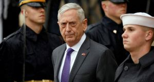 Outgoing US defence secretary Jim Mattis has achieved martyr status among Democrats who did not lament his dismissal by Barack Obama. Photograph: Yuri Gripas/Reuters