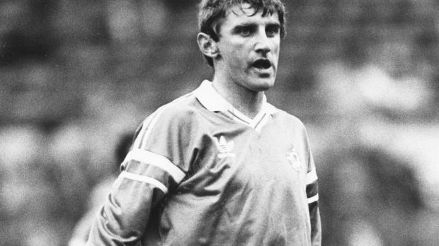 John Anderson won 16 caps for the Republic of Ireland. Photograph: Inpho