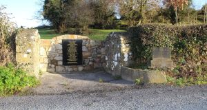 A memorial was unveiled to those who carried out the Soloheadbeg ambush, Tipperary.