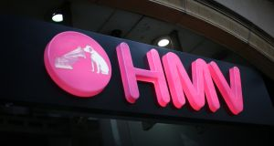 HMV is the first victim of a dismal Christmas for British retail, which saw stores discounting from early December to try to offset competition from Amazon.com. Photograph: Peter Macdiarmid/Getty Images