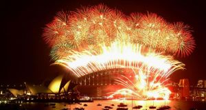 """Images of the Sydney Opera House practically exploding as Australia rings in the year sets the bar unrealistically high and any plans you may have been looking forward to seem parochial in comparison."" Photograph: Nick Wilson/Getty Images"