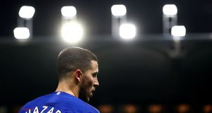 Chelsea manager Maurizio Sarri says the club must decide on the future of Eden Hazard. Photo: Hannah McCay/Reuters
