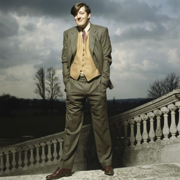 Stephen Fry in 1997. Photograph: Terry O'Neill/Iconic/Getty