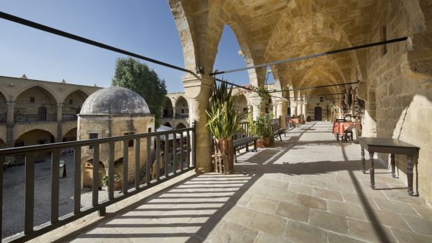 The Great Inn in Nicosia, Cyprus, is considered to be one of the finest buildings on the island. Photograph: Getty Images