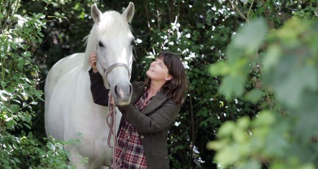 "Eileen Battersby and Sophie in 2010. ""A bond with a horse is unique, if you win it,"" she said in a radio interview. ""It's a massive privilege."" Photograph: Alan Betson"