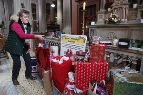 UNWANTED GIFTS: People are being asked not to return or put away unwanted Christmas gifts this week, but to bring them to the Pro-Cathedral in Dublin where staff will collect them for Crosscare, the social care agency, which will give them to people attending their homeless services. Photograph: John McElroy