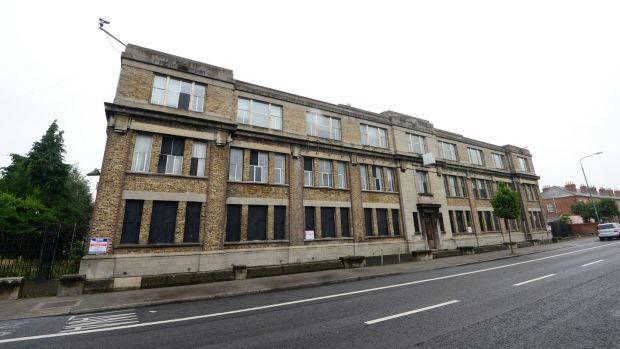 Across the State sites worth more than €300 million have been added to the register by local authorities, including the former Player Wills factory on the South Circular Road, Dublin, above. Photograph: Dara Mac Dónaill