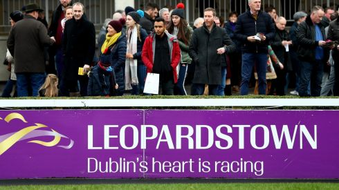 FESTIVAL FEELING: Dublin's heart is racing, according to those in the know. Photograph: James Crombie/Inpho