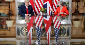 The US ambassador to London, Woody Johnson, has cast doubt on the chances of a bilateral trade deal with Britain if prime minister Theresa May manages to push her Brexit agreement through parliament. Photograph: Pablo Martinez Monsivais/AP