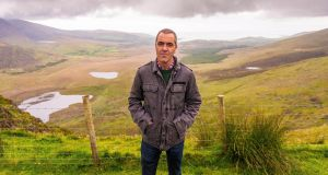James Nesbitt in his ITV travelogue, 'Jimmy Nesbitt's Ireland'. Photograph: TwoFour/ITV