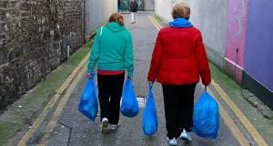 "Food banks: The religious said that the ""marked increase in people needing to avail of such facilities"" is a worrying trend. File photograph: The Irish Times"
