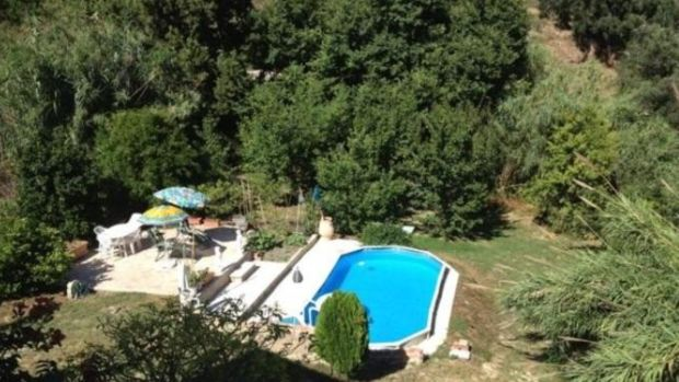 Greece: This villa comes with a pool and fruit trees, including olives