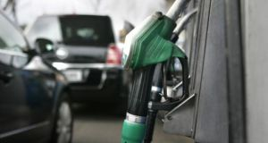 About 90 per cent of the total energy tax is generated by sales of petrol and diesel. Photograph: Dara Mac Dónaill