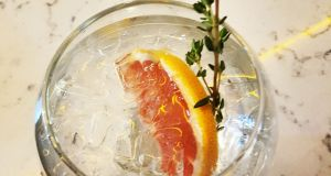 Fancy a gin with pink grapefruit and a sprig of thyme? Course you do