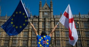 Houses of Parliament, London: The Commons is divided into a large number of factions from hardcore Brexiters who want a no deal exit to hardcore remainers. Photograph: Dominic Lipinski/PA Wire