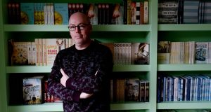 Writer John Boyne in his Rathfarnham home which won the Celebrity Home of the Year 2019 title. Photograph: Alan Betson/The Irish Times