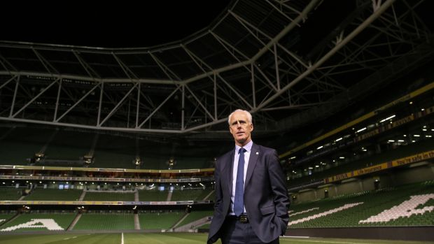 Republic of Ireland's new manager Mick McCarthy: how will he fare in the Euro '20 qualifying campaign? Photograph: Gary Carr/Inpho