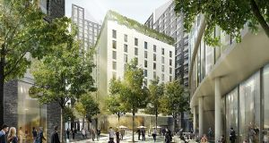 The 212-room Clayton Hotel City of London is due to open later this month.