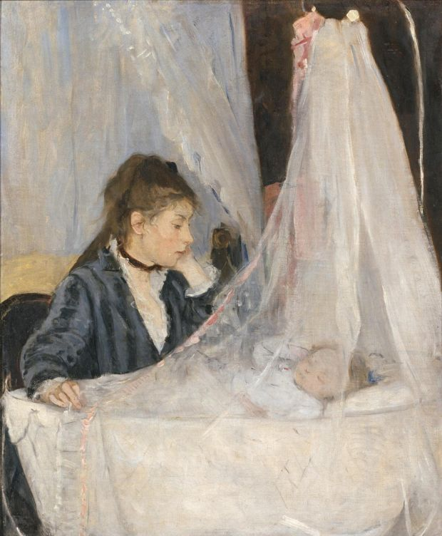 The Cradle, 1872, Musée d'Orsay, Paris