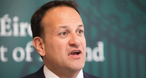 Taoiseach Leo Varadkar said he and German chancellor Angela Merkel  had a long phone conversation at her request. File image: Tom Honan/The Irish Times