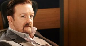 "Ricky Gervais: ""You can joke about whatever you like. And some people won't like it and they will tell you they don't like it . . . It's a good system."" Photograph: Ray Burmiston/Entertainment One/PA"