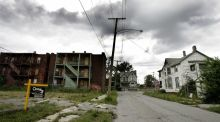 Detroit: The city lost almost a third of its population between 2000 and 2016. Photograph: Jeff Haynes/AFP/Getty Images