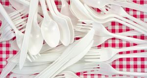 The Minister for Climate Action has banned Government departments from purchasing single-use plastic cups, cutlery and straws.