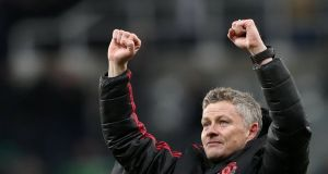 Ole Gunnar Solskjaer will rotate his side for Saturday's FA Cup game at home to Reading. Photograph: Scott Heppell/Reuters
