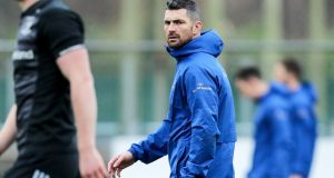 Rob Kearney will captain Leinster against Ulster. Photograph: Laszlo Geczo/Inpho
