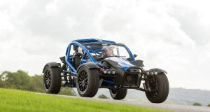 None madder than an Ariel Nomad