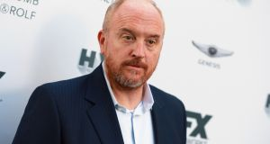 Messy: Louis CK's attempted comeback. Photograph:   Rich Fury/Getty Images