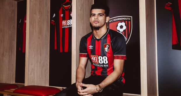 Liverpool's Dominic Solanke has left the club to join Bournemouth. Photo: AFC Bournemouth/AFC Bournemouth via Getty Images