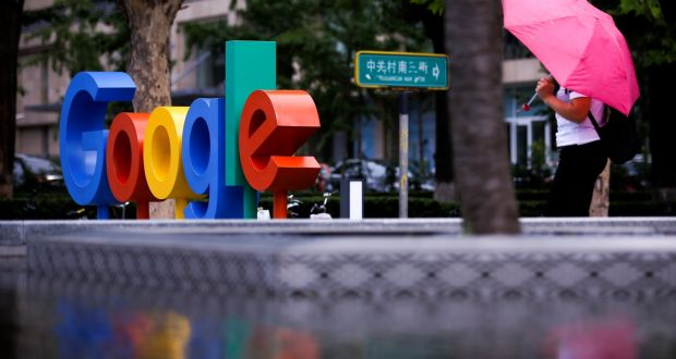 Google's standard defence when challenged about tax manoeuvres is to say it pays all of the tax legally required of it in the countries in which it operates. Photograph: Thomas Peter/Reuters