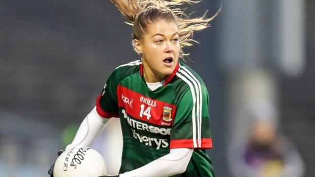 SPORT: Mayo footballer Sarah Rowe. Photograph: Inpho