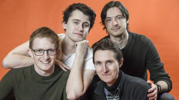 ARTS: Comedy troupe Dreamgun, which consists of Stephen Colfer, Gavin Drea, Heber Hanly and James McDonnell